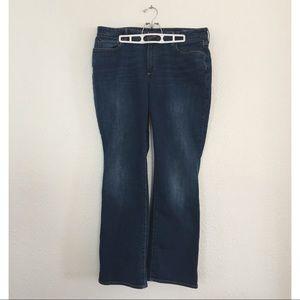 Eddie Bauer Curvy Bootcut Jean, Size 18